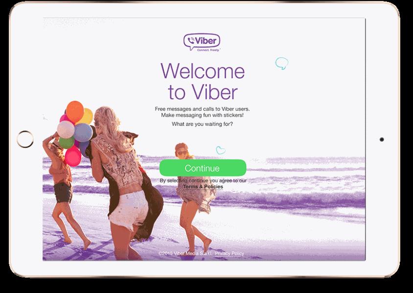 Viber для iPad скачать бесплатно