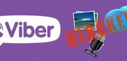 Как понять, что тебя заблокировали в Viber